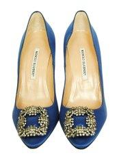 Manolo Rhinestone Heels