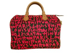 LV Graffiti Speedy