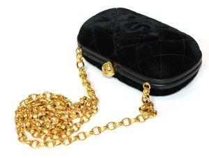 Chanel Velvet Clutch